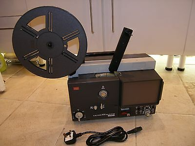 """Elmo SC-18 """"HiVision"""" Super 8mm Projector with 2 Track Sound"""