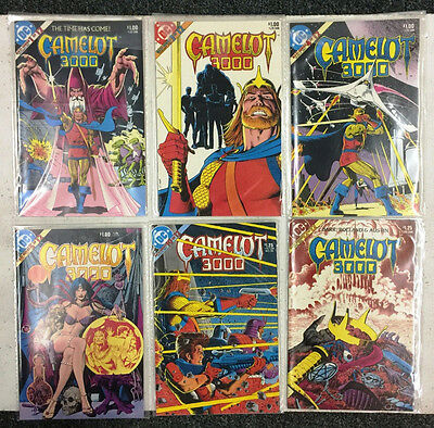 DC Comics - Camelot 3000 - 6 issue lot with #s 1, 3, 4, 5, 10 & 12
