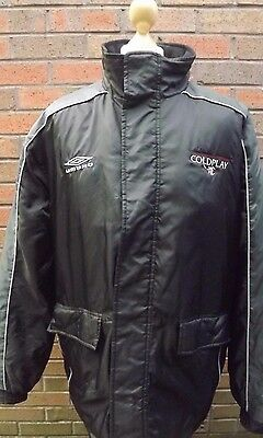 Coldplay A Rush Of Blood To The Head Germany 2002 Umbro XL Tour Jacket