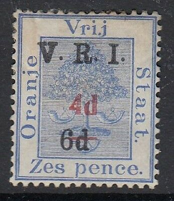 Orange Free State Double Surcharge (Appears Unused)