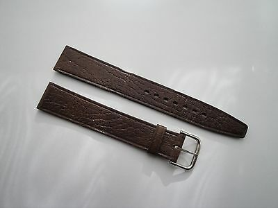 NEW MENS 16mm COBRA  GENUINE LEATHER WATCH STRAP MADE IN FRANCE