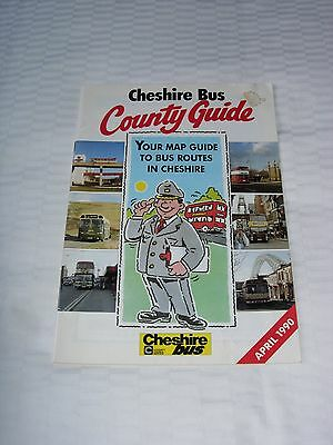 Cheshire Bus County Guide, April 1990
