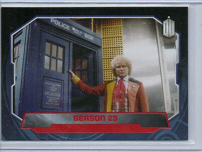 Topps Doctor Who 2015  -  Base 188 Red Parallel Card 28/50 NM
