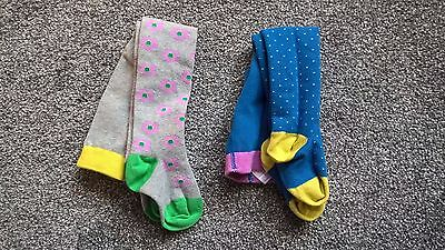 BNWOT Boden Babies tights blue/grey age 1.5 - 2 years