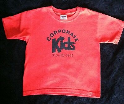 Gildan S Cotton Blend Red Corporate Kids Short Sleeve Tee-Everyday, All seasons