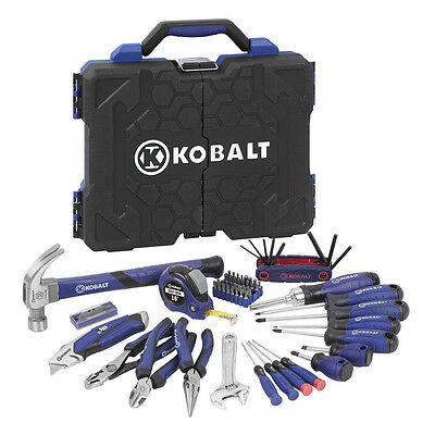New Kobalt 69-Piece Household Tool Set with Hard Case Kit