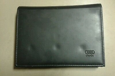 Audi Leather  Wallet for all Audi  models,Owners handbook manual service book
