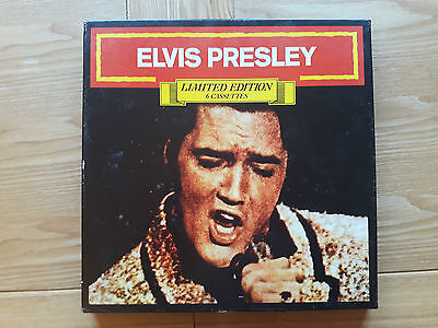 Elvis Presley Rare Limited Edition 6 Cassettes  Germany