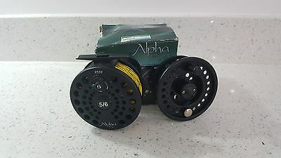 Shakespeare Alpha fly fishing reel 5/6