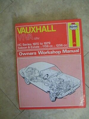 Vintage Haynes Workshop Manual for Hillman Avenger 1970-1973