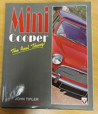 Mini Cooper The Real Thing History Building Rallying John Tipler