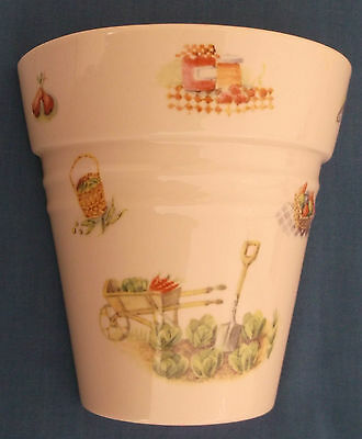 Aynsley Edwardian Kitchen Garden China Plant Pot Wall Pocket Made In England