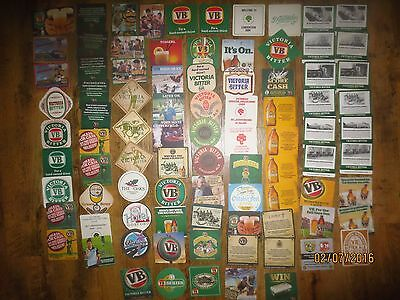 88 Different VICTORIA BITTER Issue collectable  COASTERS