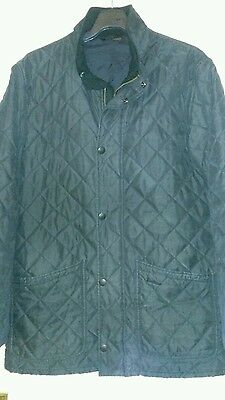 Mens Barbour Quilted Jacket Size Medium