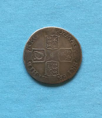 QUEEN ANNE.   1707 Sixpence