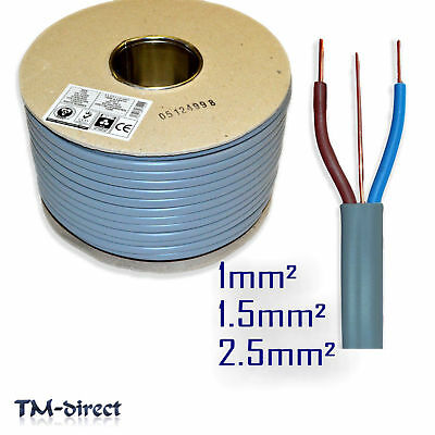 Twin and Earth T E Electric Cable 6242Y Wire for Lights Socket Cooker Shower