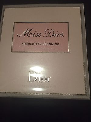 Profumo Donna Miss Dior Absolutely Blooming 100 ml Nuovo Eau De Parfum