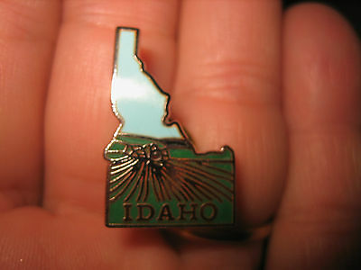 Vintage IDAHO State Collectors PIN