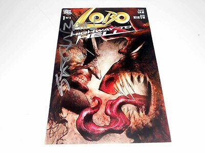 Lobo Comic Book Signed By Scott Ian From Anthrax