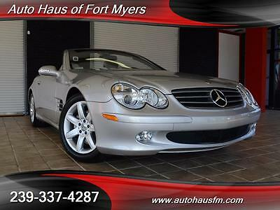 2003 Mercedes-Benz SL-Class  We Finance & Ship Nationwide Fully Serviced ONLY 19K MILES!! Navigation FL Owned
