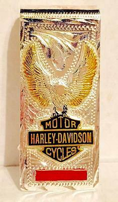 HARLEY DAVIDSON BEAUTIFUL Spring Loaded SILVER MONEY CLIP Motorcycle Hog