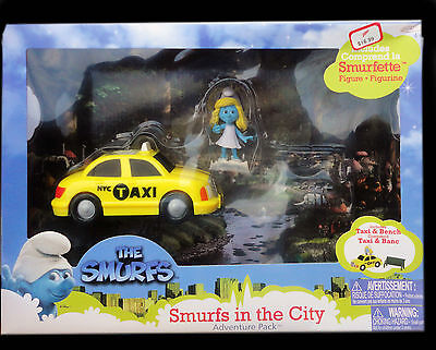 Smurfs in the City - Adventure Pack - Playset - New
