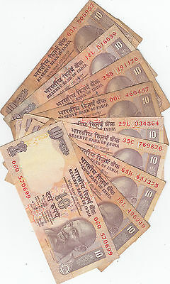 INDIA 10 RS  Paper Money