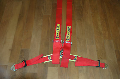 Sabelt 4 Point Seat Belt Harness - £9.99 No Reserve