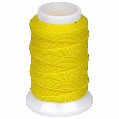 SEIWA W Waxing Sawing Thread #0 50m Yellow Polyester Leather Craft Tool New