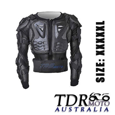 Larger New Body Armour Armor Racing Protector Dirt Bike Motor Bike XXXXX-L Size