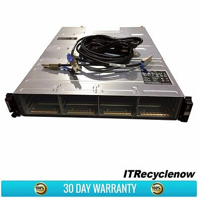 "Dell PowerVault MD1200 Array 12x Bay 3.5"" Drive 2x EMM 2x PSU 2x Cables"