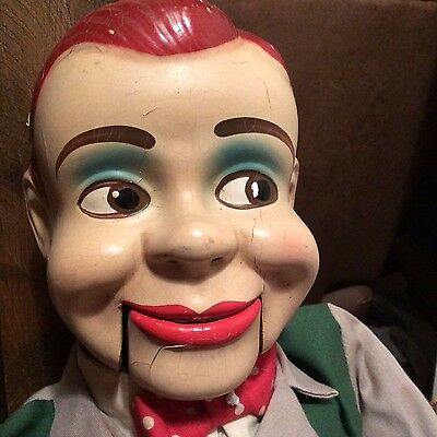 1950's JERRY MAHONEY Ventriloquist Dummy Doll Puppet Vintage Juro Paul Winchell