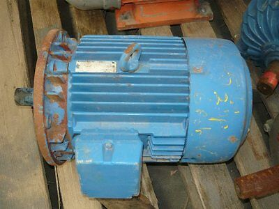 Western Electric 5.5Hp Flange 3 Phase Electric Motor/960Rpm