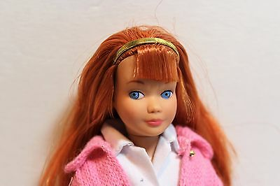 Vintage Skipper Repro/reproduction-Knitting Pretty Titian Doll + Outfit