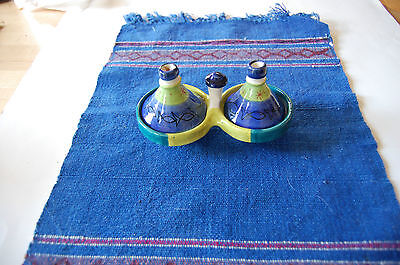 Morrocan Double Tajine Spice Holder-New From Retail