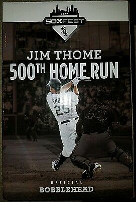 Jim Thome Bobblehead White Sox Soxfest promotional limited edition