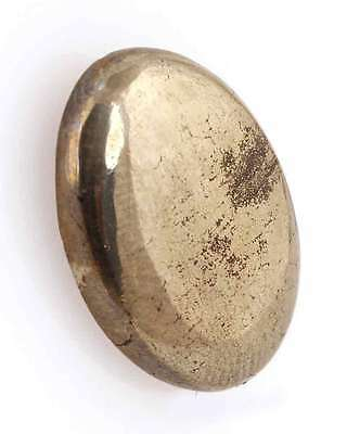24.40 Cts. Natural Golden Pyrite Oval Cabochon Classic Quality Loose Gemstones