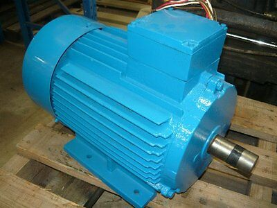 Western Electric 7.5Hp 3 Phase Electric Motor/ 1440Rpm