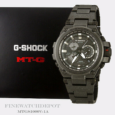 Authentic Casio G-Shock Men's Stainless MT-G Metal Twisted Watch MTGS1000V-1A