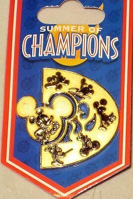 10 Pin Trader Trade LOT ~ NEW on Card ~ Summer of Champions Spinner WDW Disney
