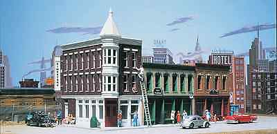 "Walthers Cornerstone Ho Scale Kit #933-3029: ""merchant's Row Ii"""
