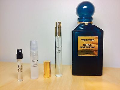 NEROLI PORTOFINO by Tom Ford - Choose Your Sample - 100% Genuine