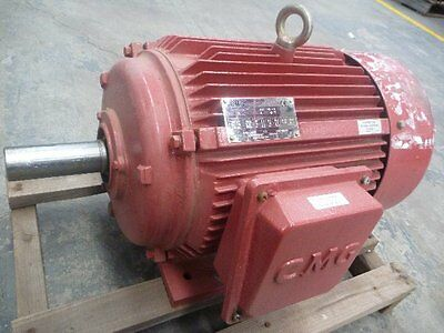 Never Used Cmg 10Hp 3 Phase Electric Motor/ 715Rpm