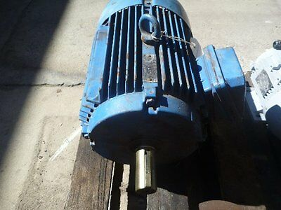 Western Electric 10Hp 3 Phase Electric Motor/ 1440Rpm