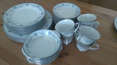 36X piece dining/plate set Noritake Sri Lanka BLUE HILL 2482
