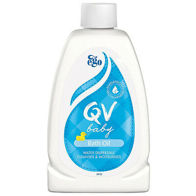 QV BABY Bath Oil 250ml *NEW* *MICHAEL VASILI CHEMIST*