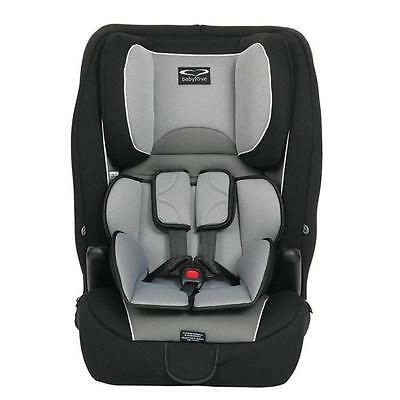 Babylove Ezy Grow Harnessed Car Seat - Silver Grey