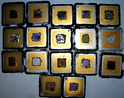 17 Gold Plated Cpu Lids