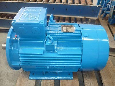 Western Electric 15Hp 3 Phase Electric Motor/ 720Rpm