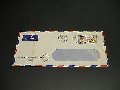 Kuwait 1965 airmail cover fold *81871